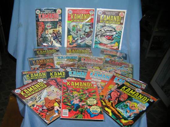 Kamandi the last boy on earth comic books