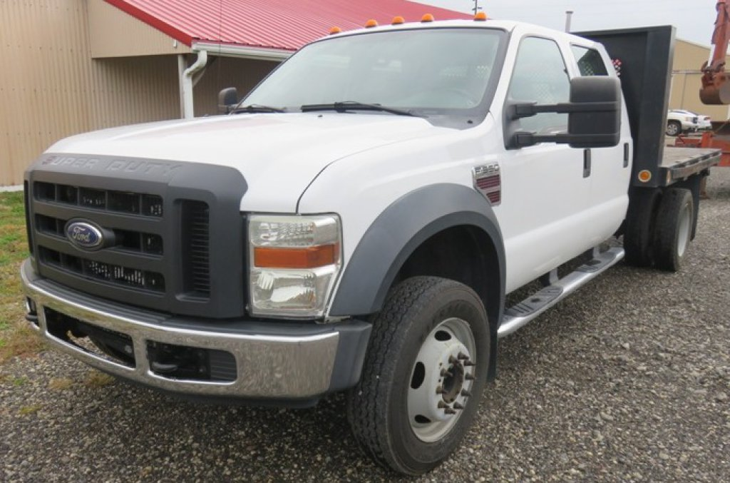 2008 Ford F550 Flat Bed