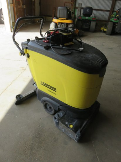 Karcher Floor Scruber