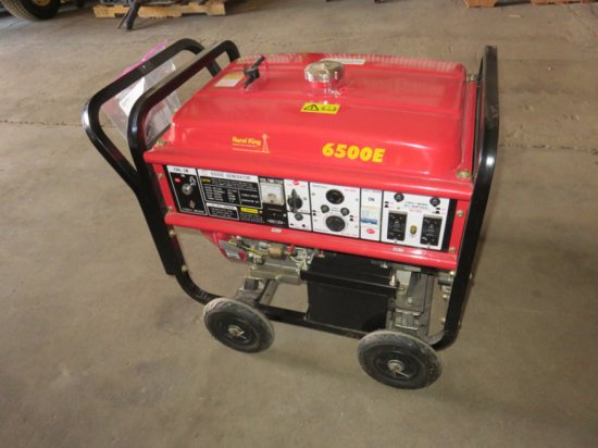 Rural King 6500E Generator