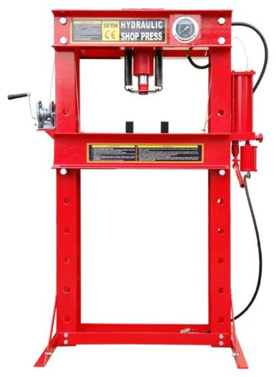 NEW 50 Ton Hydraulic Shop Press