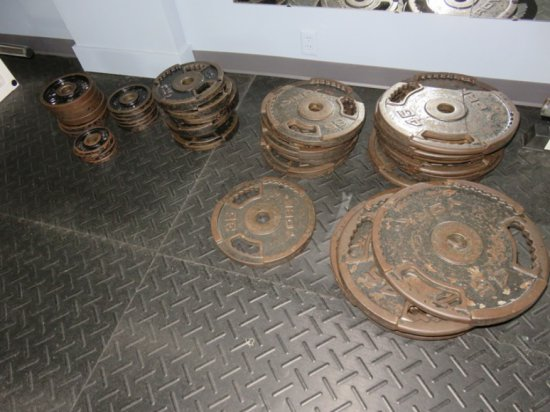 1,000 Pound York Weights