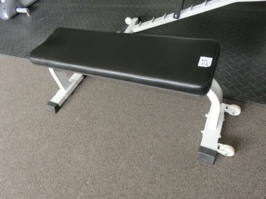 Flat Bench W/ Wheels
