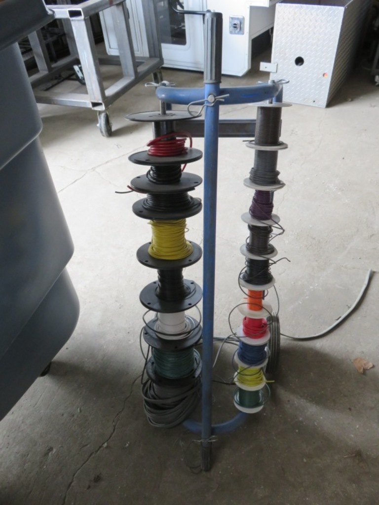 Wire Spool Cart | ... Auctions Online | Proxibid