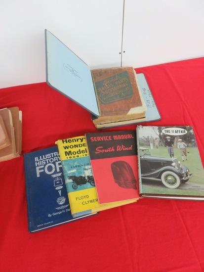 Parts Catalogs & Servicr Manuals