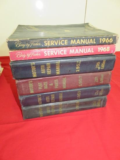 motors auto repair manual 1966