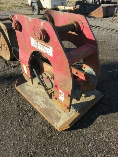 Allied 9800 Hydraulic Excvator Plate Compactor