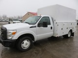 2011 Ford F350 Enclosed Service Truck