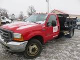 2001 Ford F550 Dump Truck