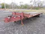 2000 25' Towmaster T40 Trailer