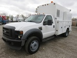 2008 Ford F550 Enclosed Service Truck