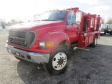 2002 Ford F750 Fuel/Lube Truck
