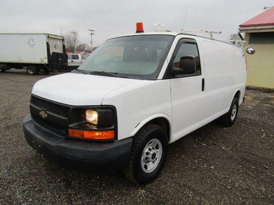 2011 Chevy 3500 Cargo Van