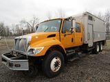 2004 International 7400 Box/Utility Truck w/ Rail Gears