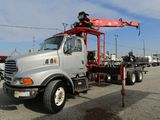 2003 Sterling LT9500 Chassis w/ Crane