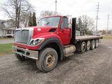 2013 International 7600 Flatbed