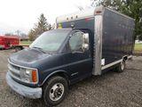 1997 Chevy 3500 Box Truck