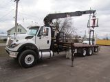 2011 International 7600 Drywall Crane