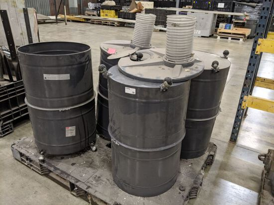 4 Collapsible 55G Drums