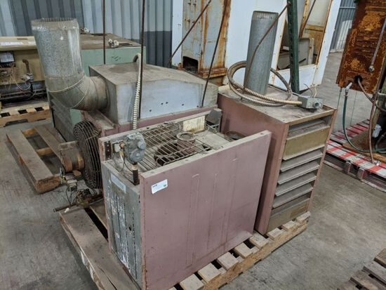 (3) Reznor Natural Gas Heaters