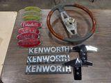 Peterbilt & Kenworth Emblems, Steering Wheel, Hood Ornaments