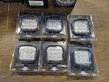 6 LED Work Lights