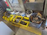 Lot of New Hardware, Clamps, Brass, Black Iron