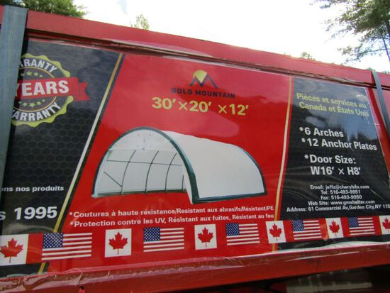 20'x30'x12 Dome Shelter