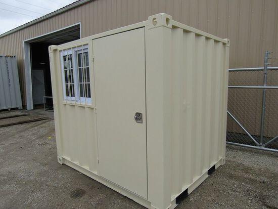 8' Container w/ Door & Window