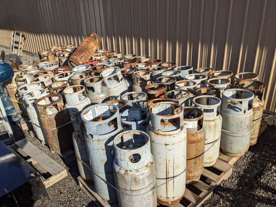 Large Group of LP Cylinders
