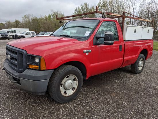 2007 Ford F-250 Pickup Utility