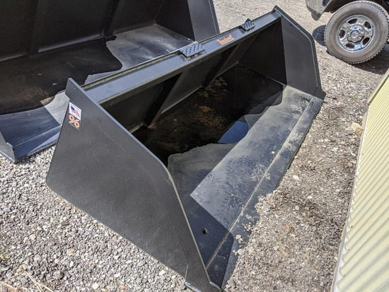 "New Tomahawk 96"" Snow/Mulch Bucket"