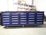10'  25 Drawers Work Bench