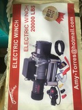 2,000 LB Electric Winch