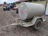 550 Gallon Diesel Tank on Cart