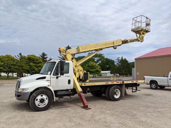 2012 International 4300 Sign Truck