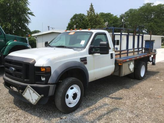 2008 Ford F550 Flatbed