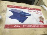 200 lb Cast Iron Anvil