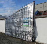 20' Bi-Parting Wrought Iron Gate