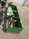 6' Bush Hog Grader Box