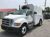 2008 Ford F650 Enclosed Service Truck