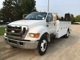 2007 Ford F750 Service Truck