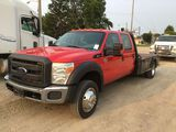 2012 Ford F550 Flatbed