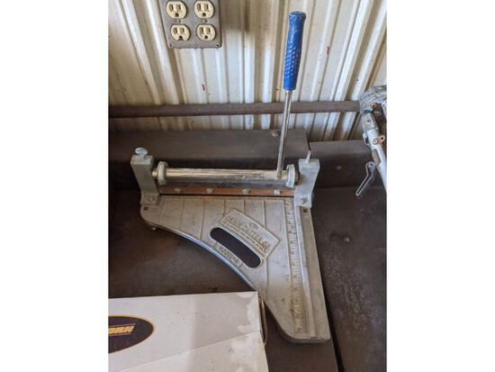 Floor Cutter, Caulk Gun, Brake Fluid Injector