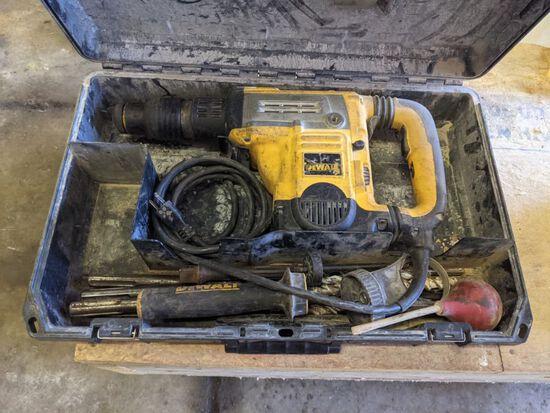 """Dewalt 1 3/4"""" Rotary Hammer Drill"""