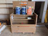 Knaack Model 89 Job Box & Drink Cooler