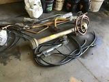 Hydraulic Ram, Pump, Misc Lines & Pumps