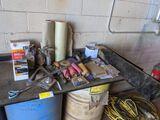 sand Paper, Air Ratchet, Rivet Gun, Misc