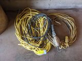 2 extension Cords, Trouble Lights