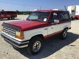 1989 Ford Bronco II XLT
